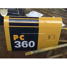 Komatsu Excavator PC360 compartimiento puerta mercado de accesorios