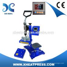 Certificado CE New Arrival Heat Pressione o tipo de máquina de impressão de tampa