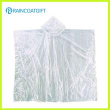 Poncho de pluie transparent bon marché pour la promotion