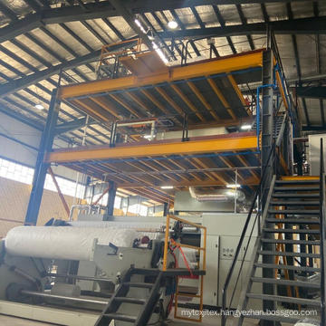4200MM PP Spunbond Non Woven Fabric Making Machine