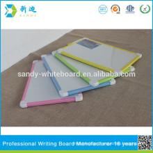 mini magnetic white board with plastic button