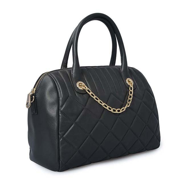 Grid Leather lady hand bag tote bags handbags