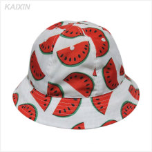 2016 custom design high quality watermelon cheap bucket hat