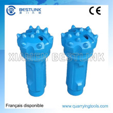 Low Air Pressure CIR Series DTH Button Bits for Mining