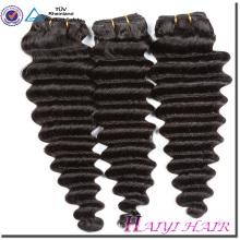 Etiqueta personal para cabello indio diseñada Maraña gratis Deep Wave 8A 9A 10A