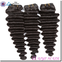 Alibaba express Pas blanchi Non teints Pas Cher Cru Vierge Cheveux Cambodgienne Femme Cheveux Style Vague Profonde hair8A9A10A