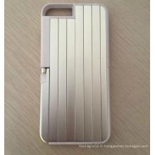 Boîte de style Selfie Stick pour la marque 2016 Housse de porte Selfie pour Iphone6 Boîtiers de boîtiers téléphoniques rétractables en aluminium