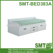 New popular solid wood sofa bed with storage drawer