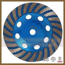Roda de diamante turbo para rebolo