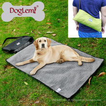 Doglemi Soft Pet Dog Bed Cobertor Portátil Ao Ar Livre Do Cão Cobertor De Viagem