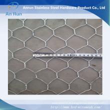 Filetage en fil hexagonal pour la clôture du bâtiment