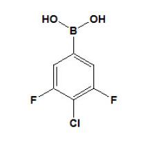 Ácido 3, 5 - difluoro - 4 - clorofenilborónico Nº CAS 864759 - 63 - 7