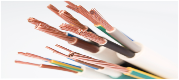 high dielectric strength electrical wires