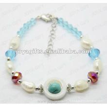 Мода 2012 Joya Blue стеклянные бисером ножной браслет