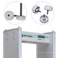 Detector de metais de 18 contêineres de entrada de zonas com gerenciamento de senhas