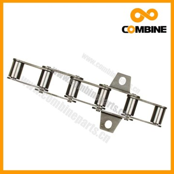 standard conveyor agricultural transimission chain with attachments