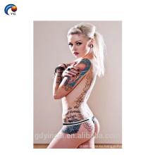 Полное Тело Татуировки Женский,Сексуальный Временный Стикер Татуировки