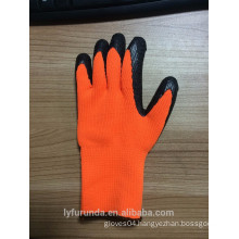 7 gauge latex acrylic coated gloves ,wrinkle finish
