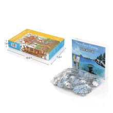 1000 Pieces Classic Custom Adult Gift Jigsaw Paper christmas puzzle