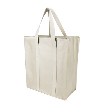 Latest Arrival Wholesale Printed PP Woven Shopping Bag China Woven PP Bags with zipper