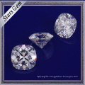 Forever One Brilliant Cushion Cut White Synthetic Moissanite Diamond for Jewelry