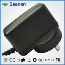 Adaptador de corriente de 5 vatios / 5 vatios con pin de CA de Australia para dispositivos móviles, decodificadores, impresoras, ADSL, audio y video o electrodomésticos