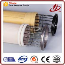 Stainless steel fiber needle felt filter bag