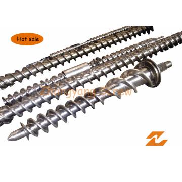 Вольфрамовый одинарный винт и цилиндр для экструдера для производства резиновых труб из ПВХ