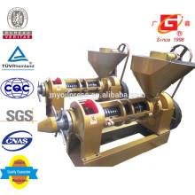 Máquina de prensa de aceite de girasol 11 ton / día de prensa de aceite de tornillo Yzyx140