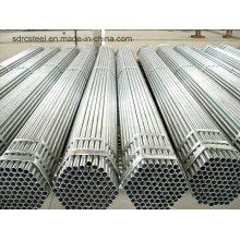 Meilleure vente de tuyaux en acier rond galvanisé de Chine