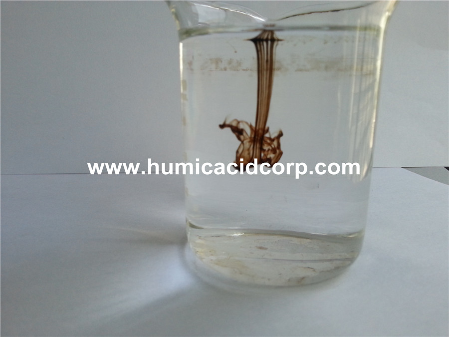 100 Soluble Potassium Humate Solubility