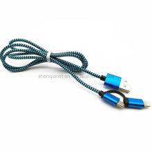 Cable de datos USB multifunción para Anroid iPhone5S
