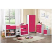 Ensemble de chambre à coucher colorée et élégante pour enfants (HF-BL026)