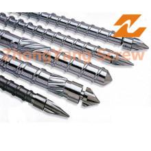 Screw and Barrel plástico Injection Molding Machine Peças de Reposição
