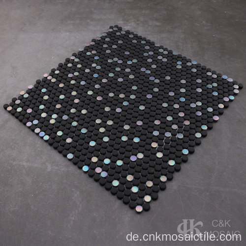 Black Mix Recycled Glass für Backsplashes