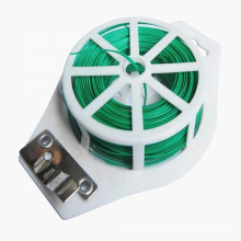 Pvc Coated Garden Wire With Cutting Blade to Tie Plants
