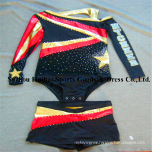 Metallic Shiny Cheerleading Uniforms