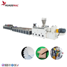 wpc wood plastic composite  making machine