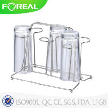 Кухонные аксессуары стекла Кубок вешалка