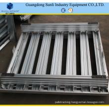1200X800 Stackable Galvanized Steel Storage Pallet