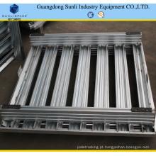 Pallet de armazenamento de aço galvanizado empilhável 1200X800