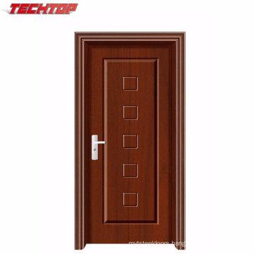Tpw-025 Factory Price Single Interior PVC MDF Door