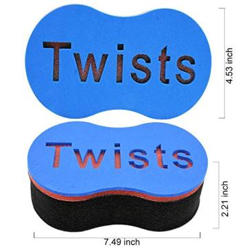 Spugna Twist per capelli Magic Black Men