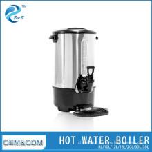 Réservoir d'eau chaude en acier inoxydable de grande capacité