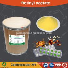 Vitamina A acetato 325 / 500CWS em pó: suplemento alimentar em pó fino