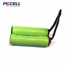 Bateria recarregável AA 900mah 2.4v ni-mh