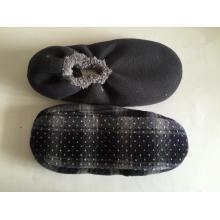 Meias confortáveis sólido elástico chinelos masculino pontilhada sola