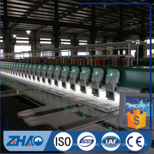 21 heads computerized embroidery high speed flat machine cheap price