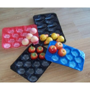 Food Industry Packaging Wholesale Disposable Plastic Tray with Dividers