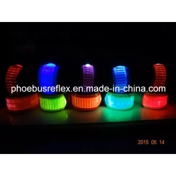LED de seguridad reflectante Muñequera